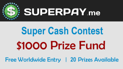 superpay me cash contest
