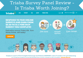 triaba survey panel review header
