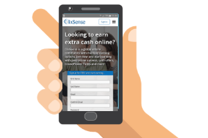 mobile with clixsense website