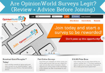 opinionworld review header