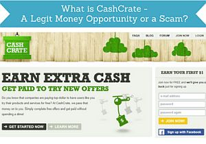 what is cashcrate legit or scam