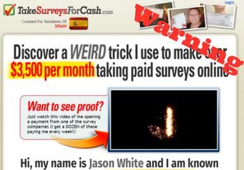 What is Take surveys for cash featured