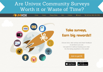 are univox community surveys worth the time