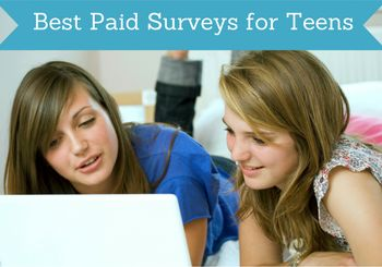 best online paid surveys for teens featured