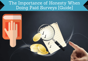 importance of honesty when doing paid surveys header