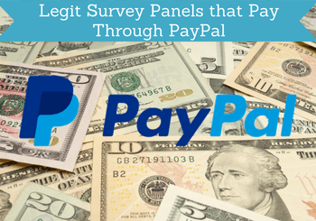 legit survey panels that pay through paypal