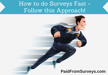 how to do surveys fast featured