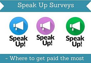 Speak up surveys