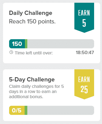 Prizerebel Daily Challenge Overview