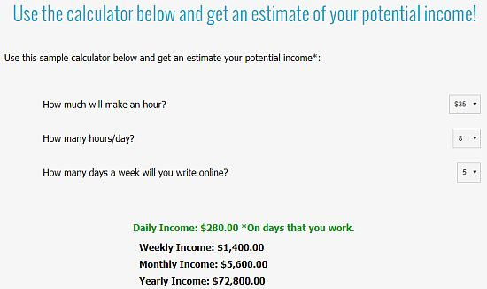 calculate your earnings
