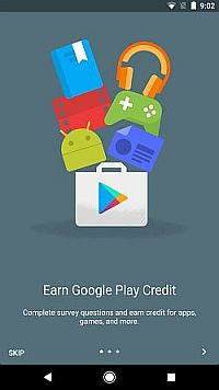 getting started with google surveys app