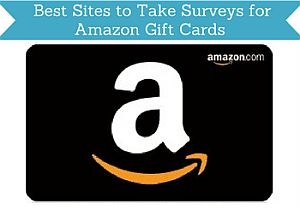 take surveys for amazon gift cards header