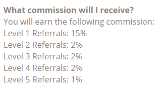 timebucks referral commissions