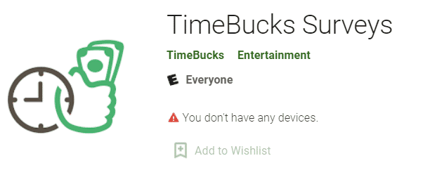 Timebucks Surveys App Icon