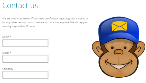 surveyeah support form