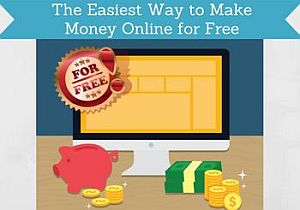 the easiest way to make money online for free