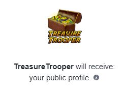 treasure trooper facebook application