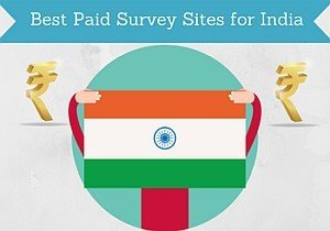 best paid survey sites india