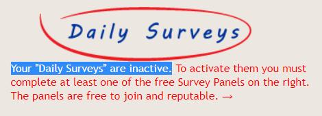 cashback research daily surveys limitation