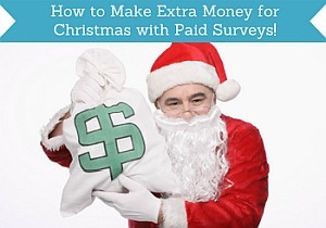 how to make extra money for christmas with paid surveys