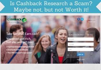 is cashback research a scam review image