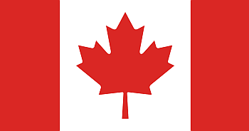 canada survey sites flag