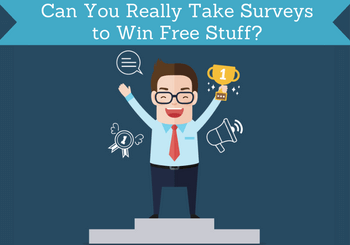 take surveys to win free stuff featured
