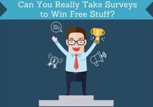 take surveys to win free stuff