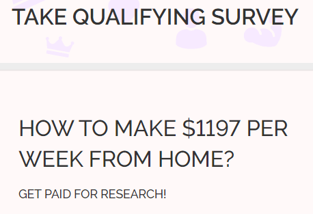 Sayso4profit First Survey