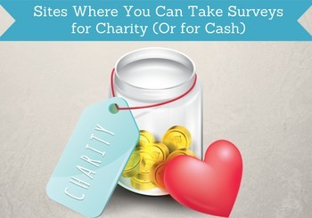 take surveys for charity
