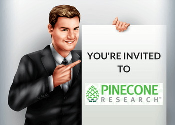 pinecone research invite