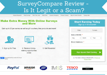 Surveycompare Review Header