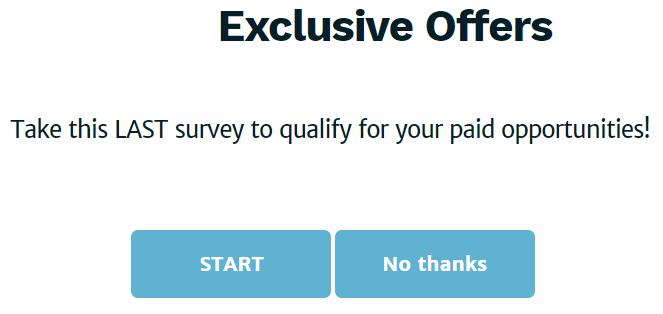 survey voices exclusive offers