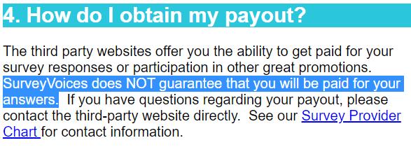 survey voices payout terms