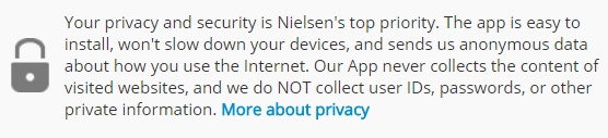 is nielsen computer and mobile panel safe