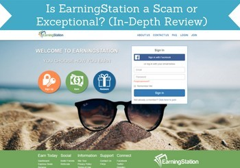 is earningstation a scam header