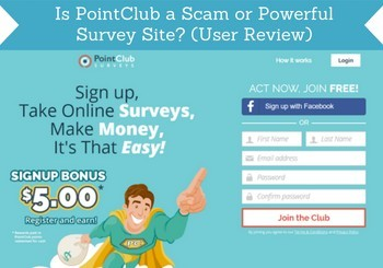 is pointclub a scam review header