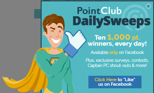 pointclub facebook competition