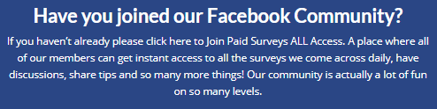 paidsurveys.com facebook group