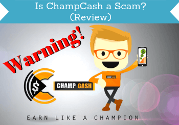 is champcash a scam review header