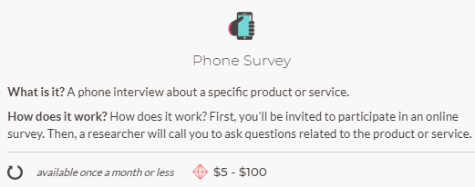 phone surveys on sj