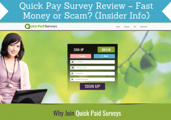 quick pay survey review header