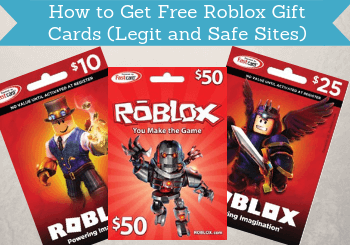 How To Get Free Roblox Gift Cards 11 Legit And Safe Sites