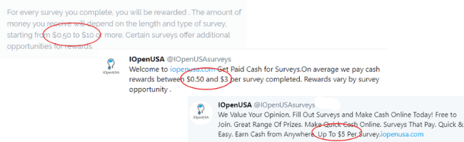 iopenusa earning claims