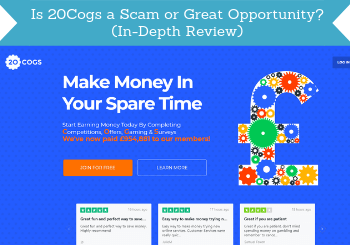 is 20cogs a scam review header