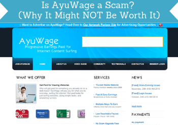 is ayuwage a scam review header