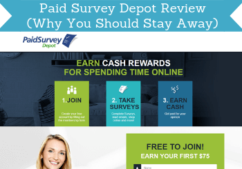 Paid Survey Depot Review (Why You Should Stay Away)