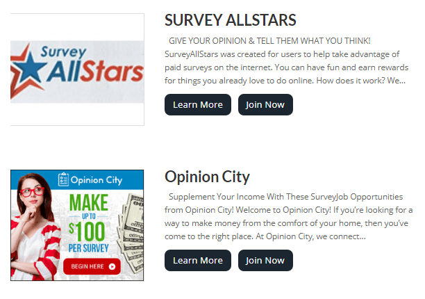 recommended surveys on paid survey depot