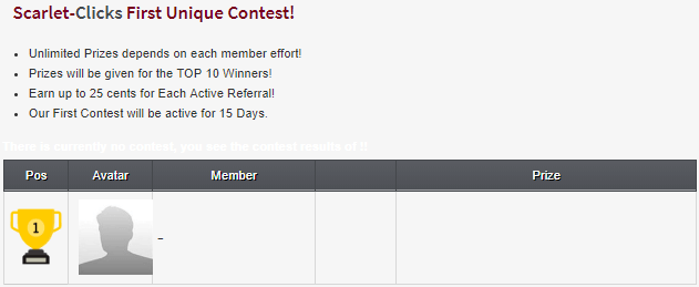 referral contest on scarlet clicks