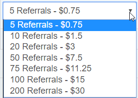 rented referrals price on scarlet clicks